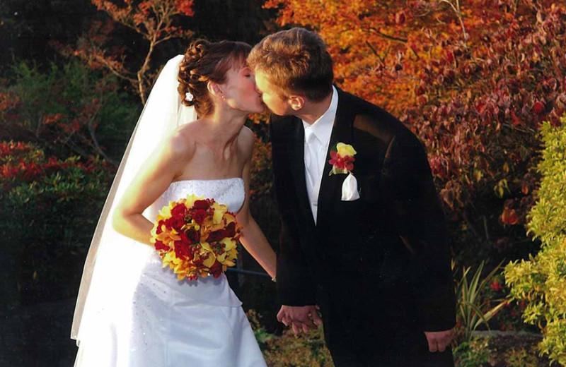 Wedding at The Woods At Bear Creek Glamping Resort.