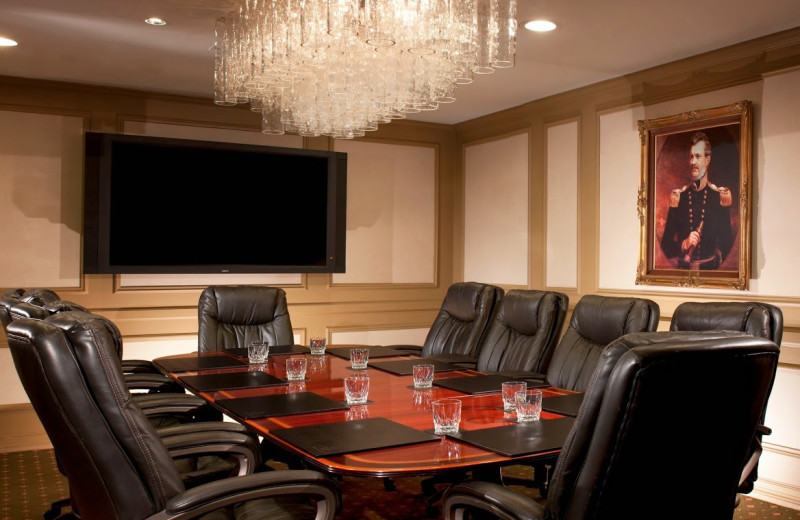 Meeting room at Hilton Fort Worth.