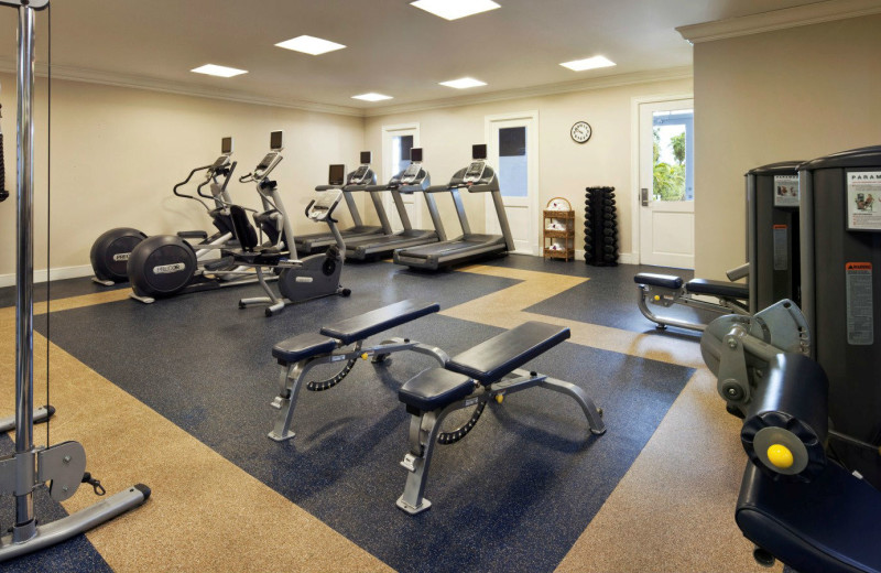 Fitness room at Sunset Key Guest Cottages, a Luxury Collection Resort.