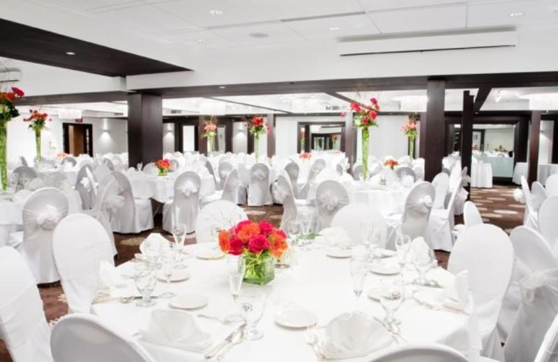 Wedding at Weber's Hotel.