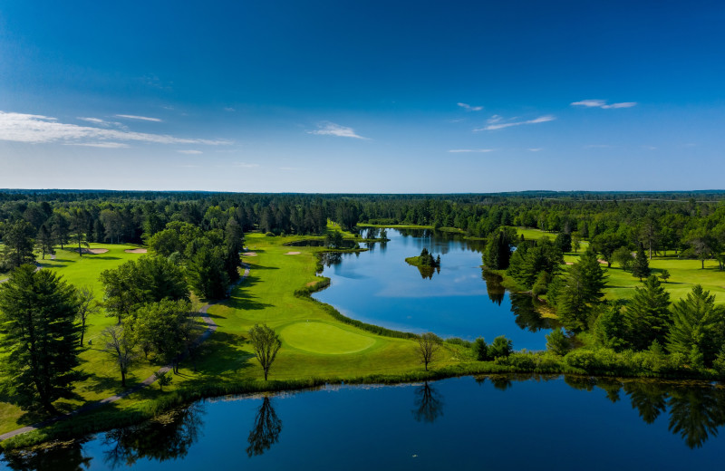 Golf course at Garland Lodge and Resort.