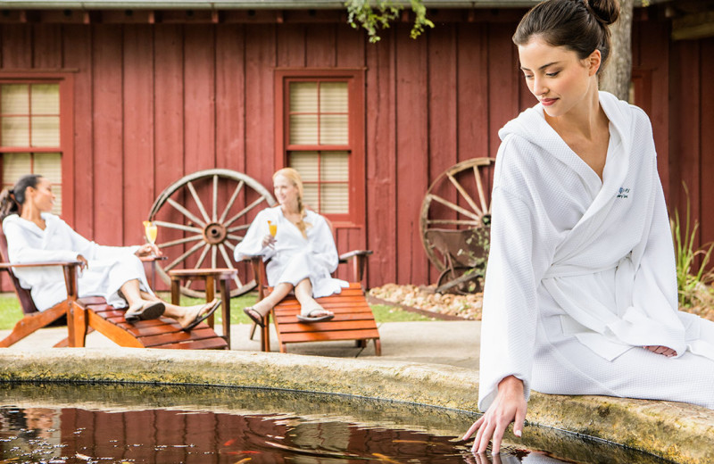 Spa at Hyatt Regency Hill Country Resort and Spa.