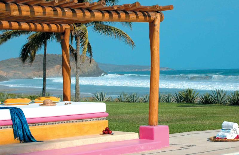 Beach at Las Alamandas.