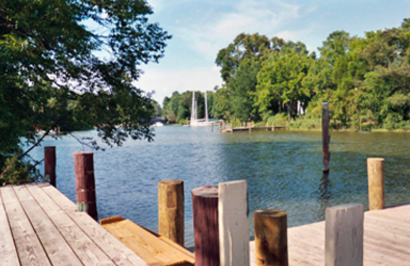 Dock View at Cottage at Long Haul