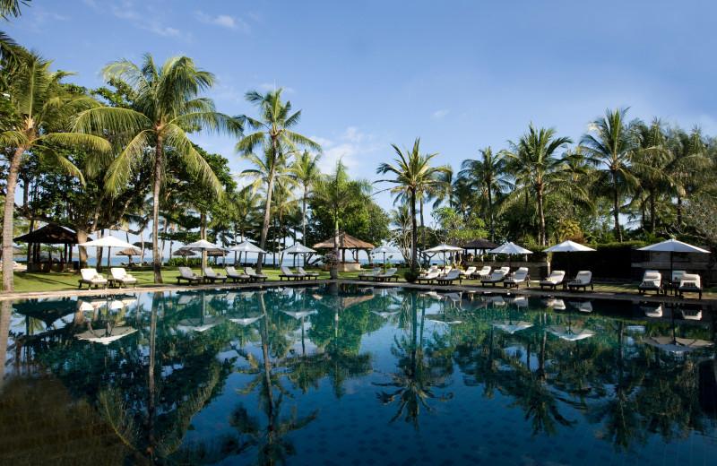 Outdoor pool at Bali Inter-Continental Resort.