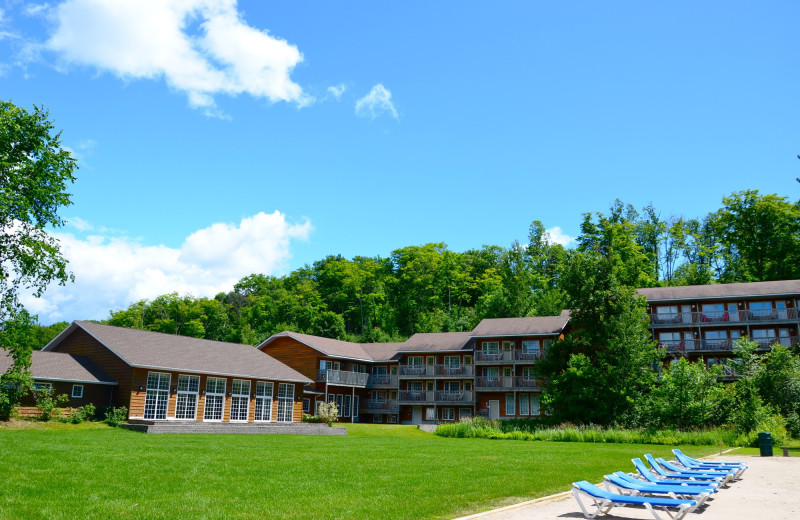 Exterior view of Grand Tappattoo Resort.