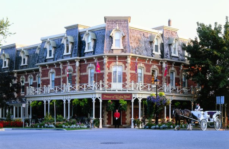 Exterior view at Prince of Wales Hotel.