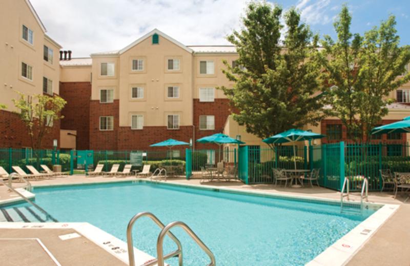 Outdoor Swimming Pool at Hyatt House White Plains