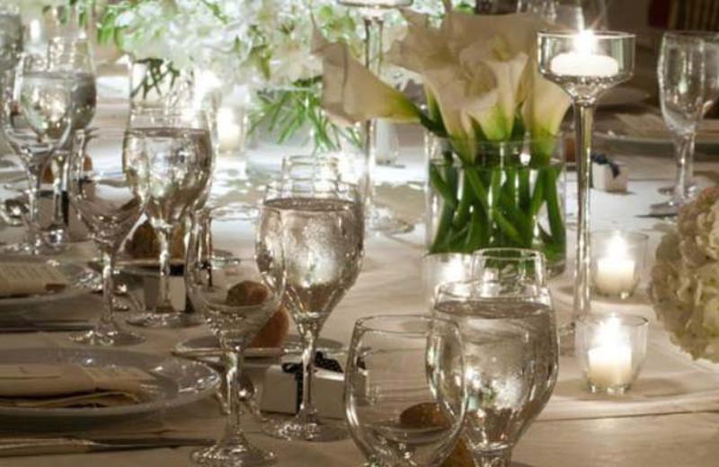Wedding setup at Doral Arrowwood.