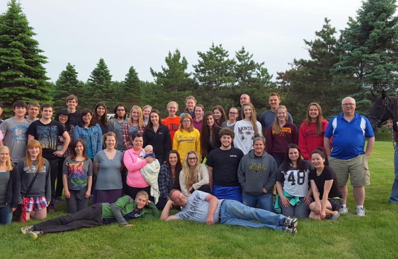 Groups at Five Lakes Resort.