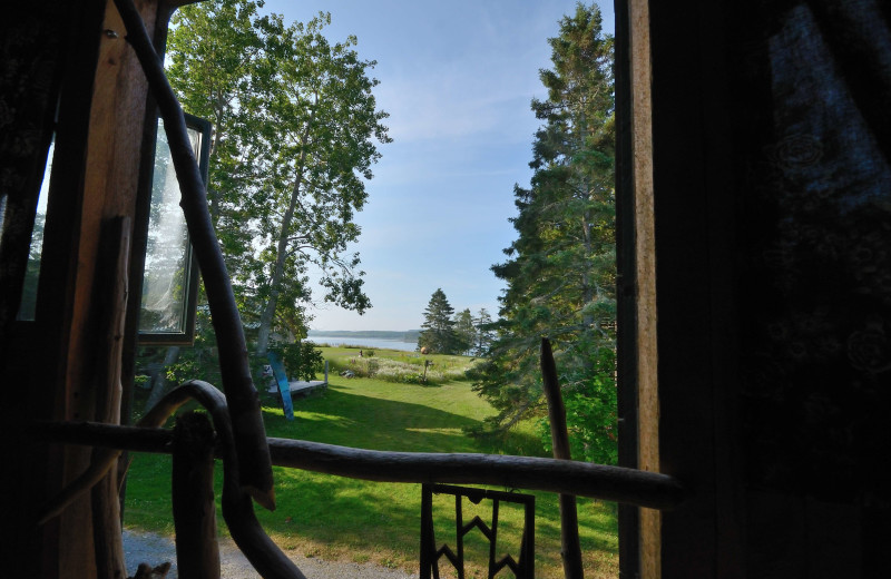 Cabin view of Rossport Lodging & Retreat.