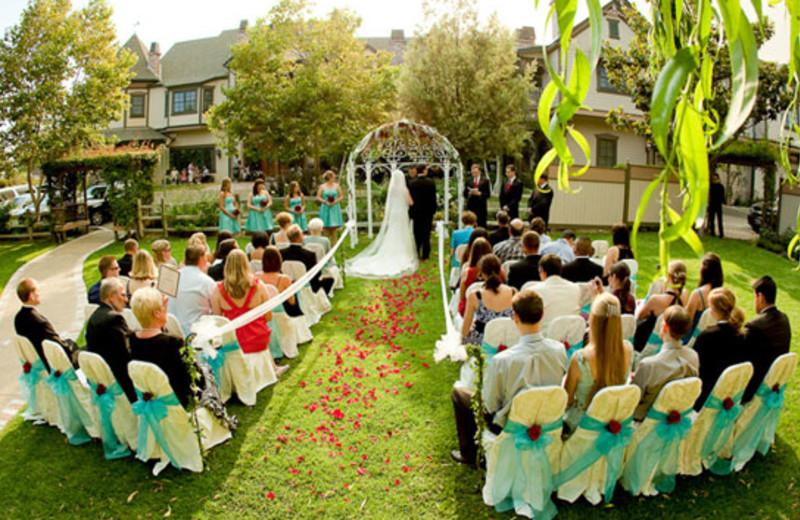 Wedding Ceremony at Santa Ynez Inn