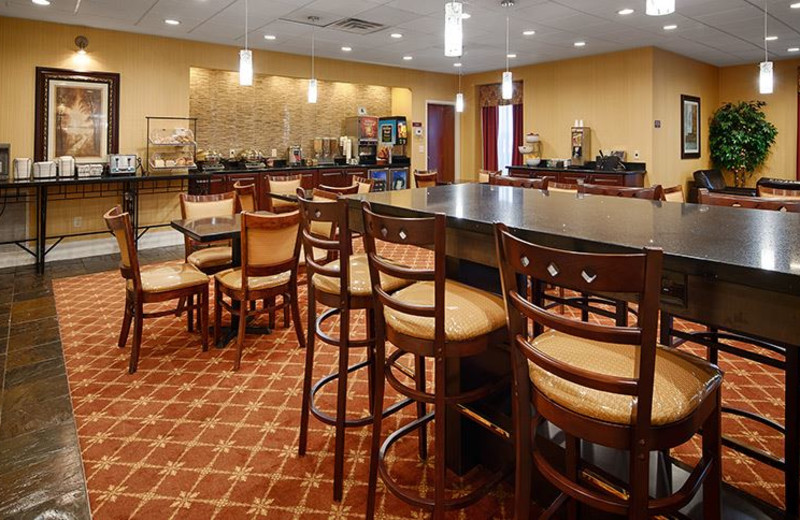 Breakfast area at Best Western Plus Greenville South