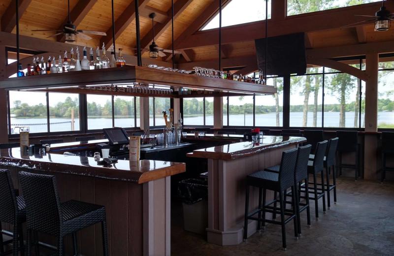 Bar at Northern Pines Resort.