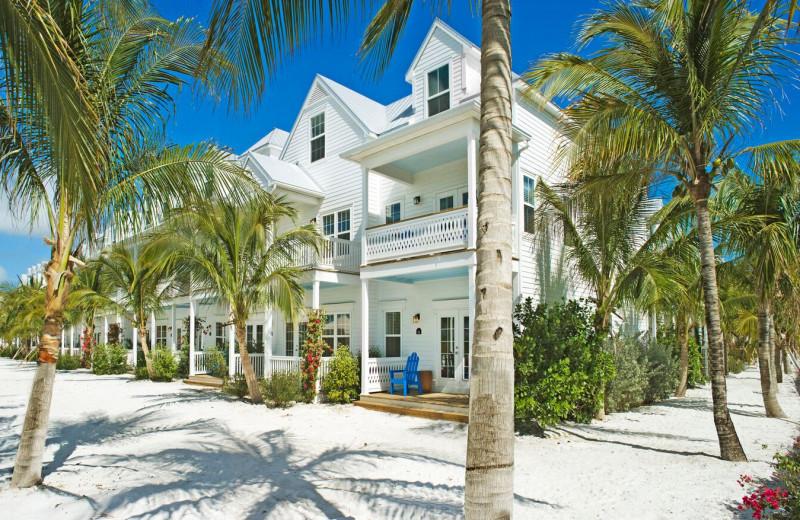 Exterior view of Parrot Key Resort.
