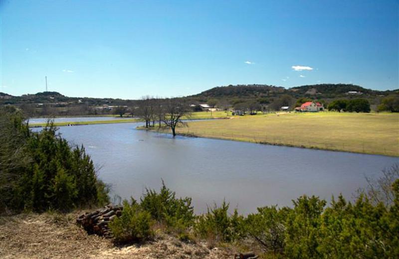 Sunday Haus view at  Fredericksburg Ranch.