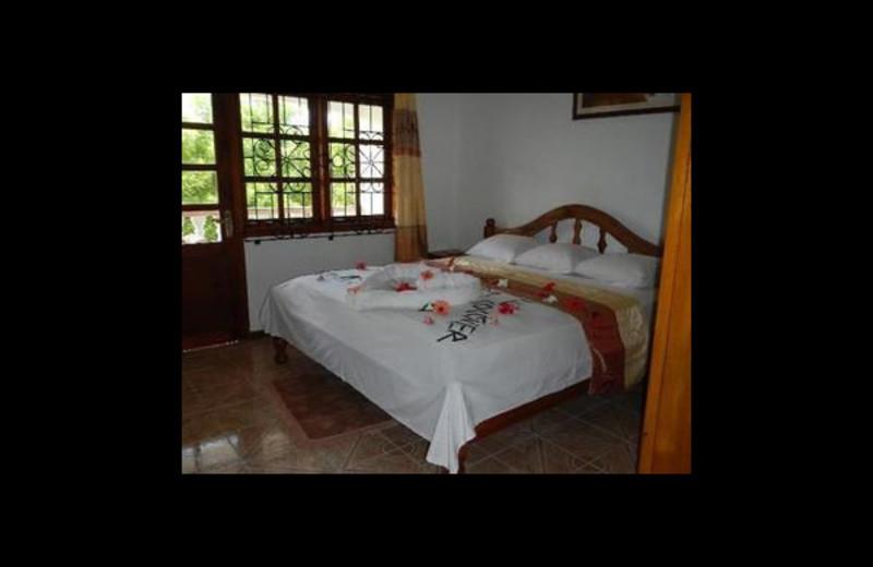 Guest room at Villa Cocotier.