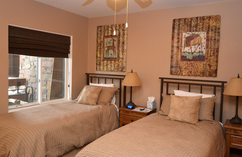 Rental bedroom at Frias Properties of Aspen - Fasching Haus #180.