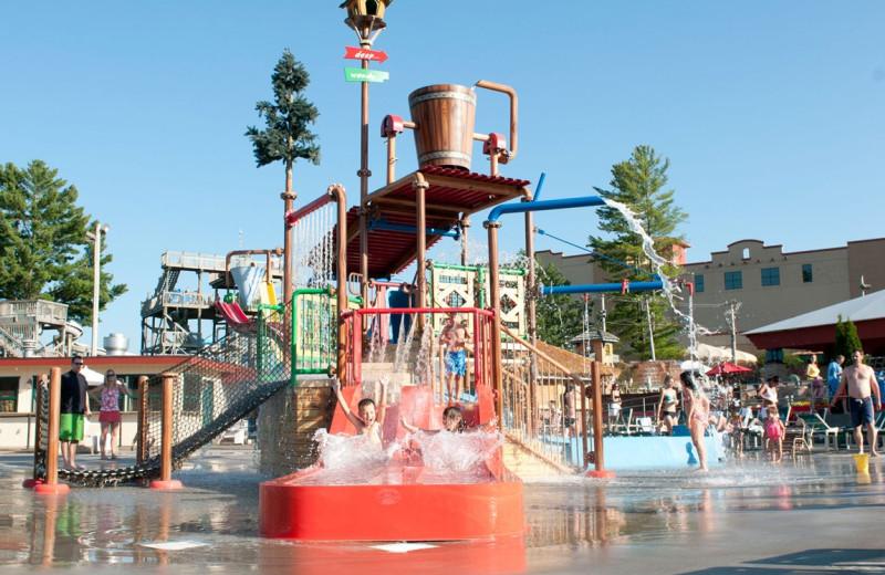 Outdoor water park at Chula Vista Resort.