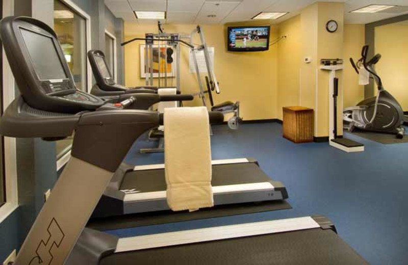 Fitness Center at Holiday Inn Express Alexandria