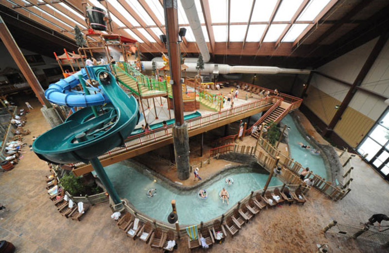 Indoor Waterpark at Six Flags Great Escape Lodge & Indoor Waterpark