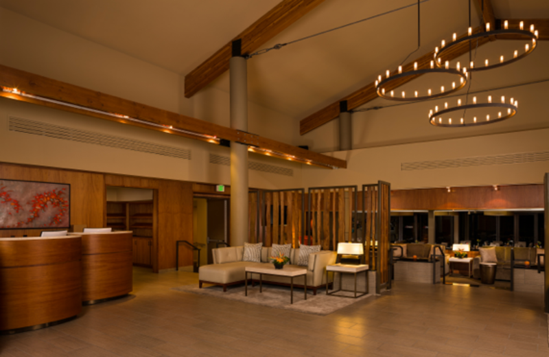 Lobby Area at Amara Resort