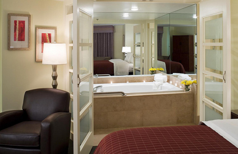 Jacuzzi King Suite at Sheraton Metairie
