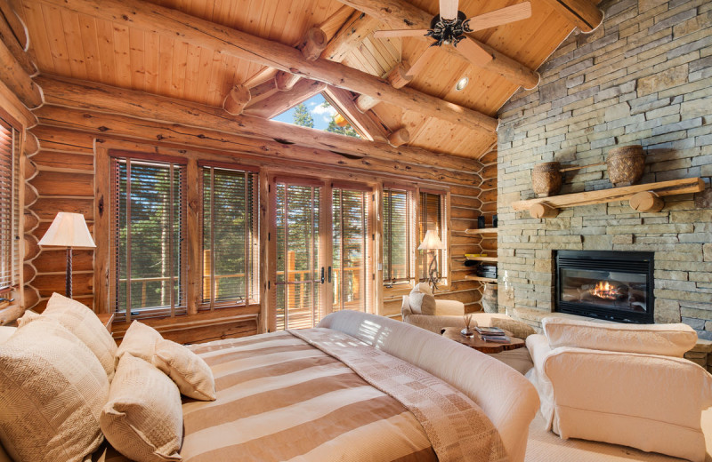 Rental bedroom at Accommodations in Telluride.