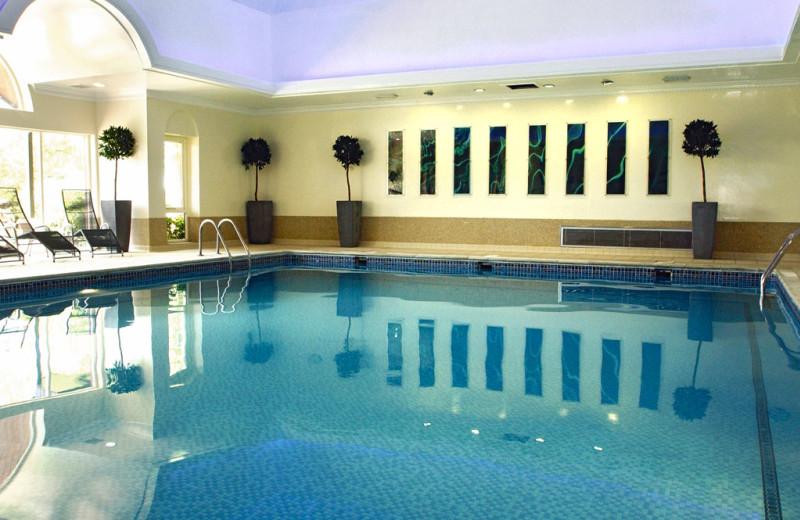 Indoor pool at Albrighton Hall Hotel.