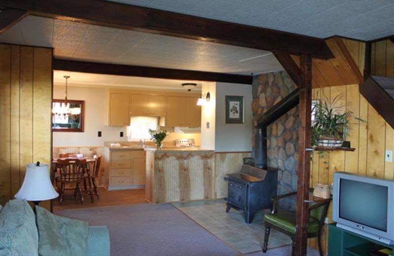 Cottage Interior at Placid Bay Inn
