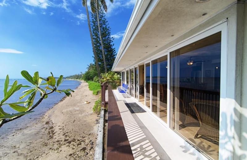 Rental exterior at Hawaiian Vacation Rentals.
