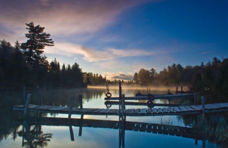 The Lake at Beaverland Camp