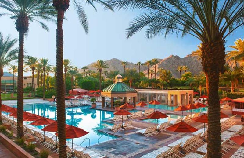 Outdoor pool at Renaissance Esmeralda Resort.
