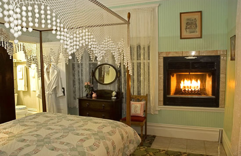 Guest room at Santa Nella House B & B.