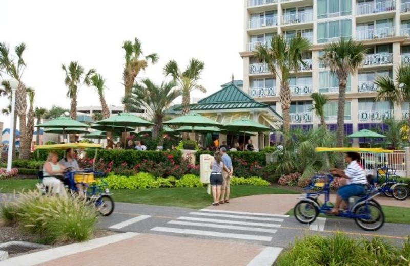 Resort exterior at Gold Key Resorts.