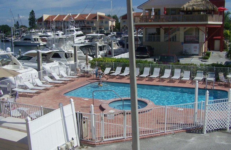 Outdoor pool at Madeira Bay Resort.