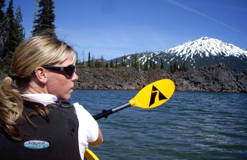 Kayaking at Seventh Mountain Resort