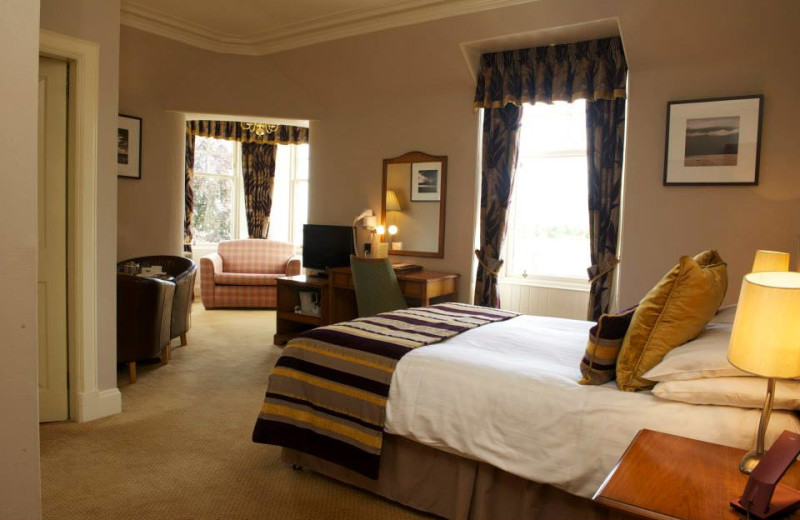 Guest room at Cairngorm Hotel.