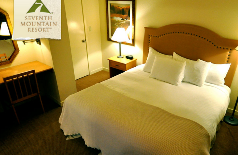 Guest Room at Seventh Mountain Resort