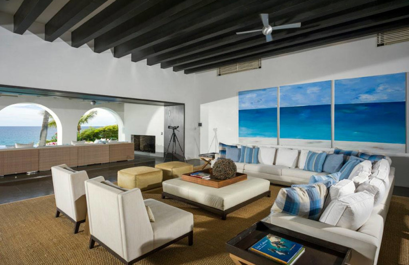 Rental living room at Sun Cabo Vacations.
