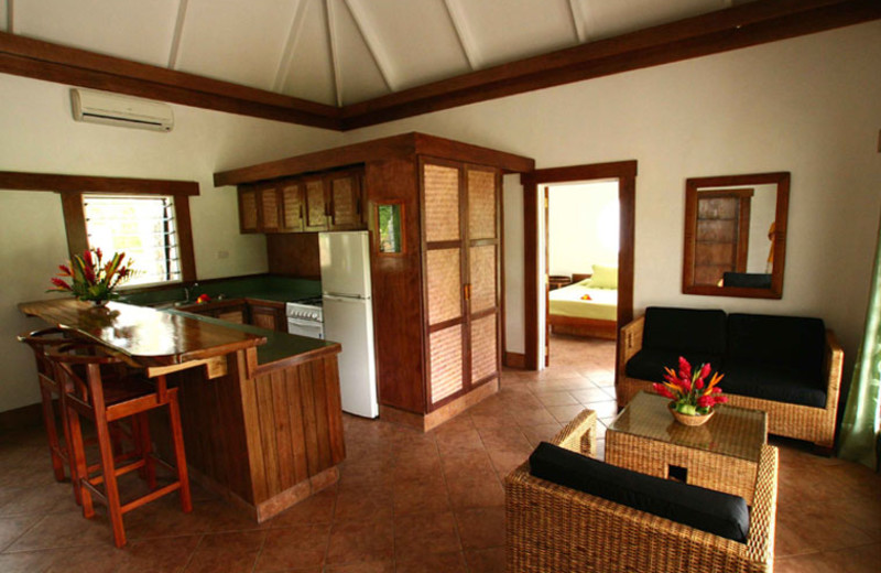 Dining And Kitchen at Koro Sun Resort