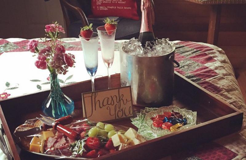 Romance package at Tsasdi Resort.