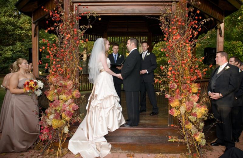 Wedding at Stonehedge Inn and Spa.
