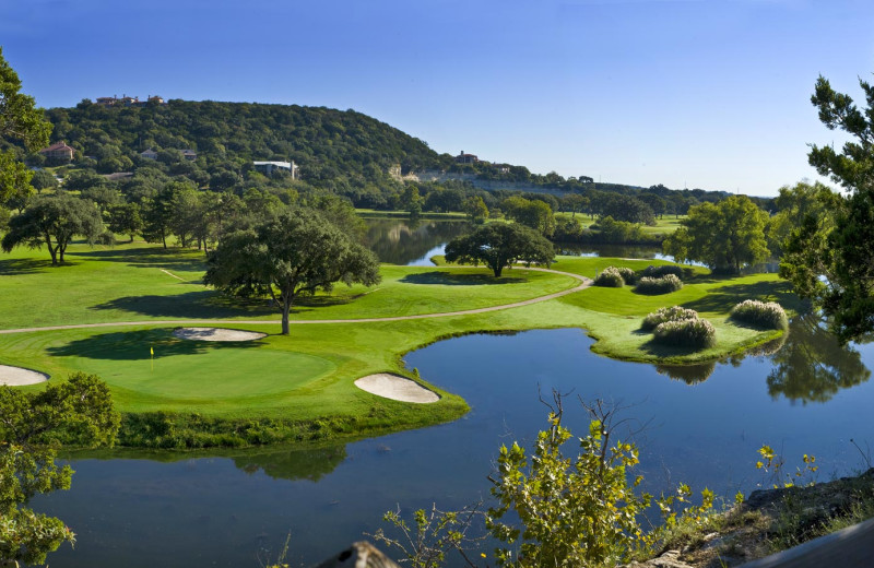 Golf course at Tapatio Springs Hill Country Resort.