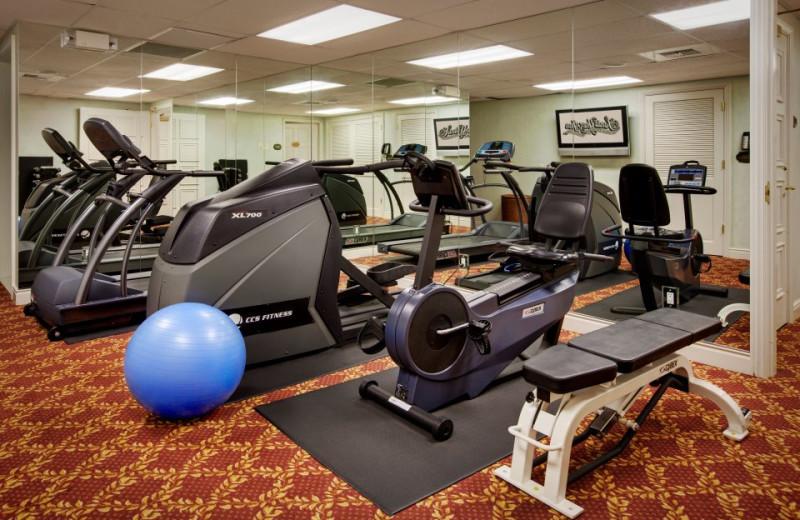 Fitness Room at Santa Ynez Inn