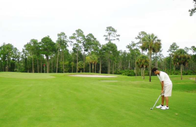Royal St. Augustine Golf and Country Club near Beacher's Lodge Oceanfront Suites.