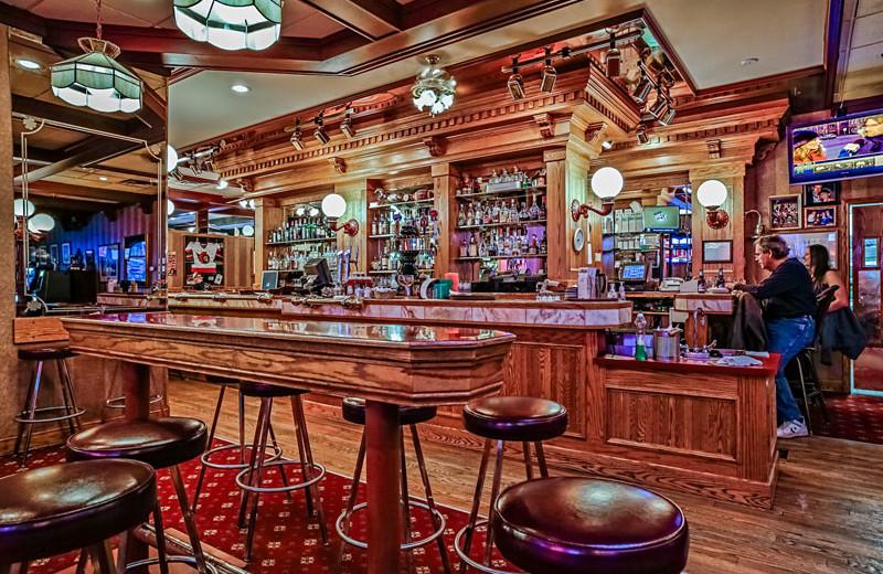 Bar at Athabasca Hotel.