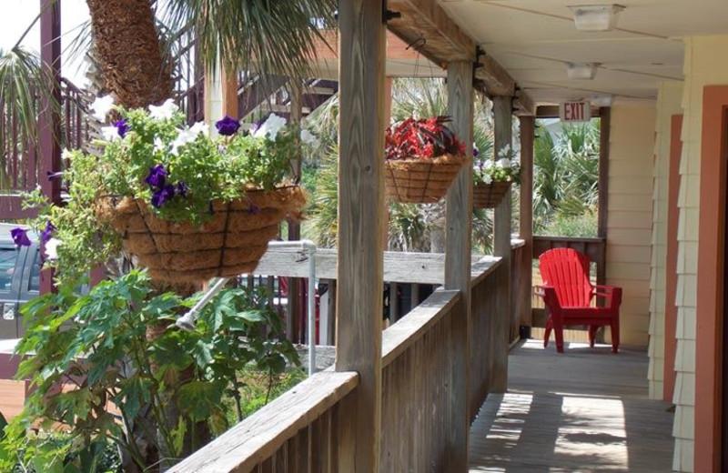 Shared Balcony Area at The Saint Augustine Beach House