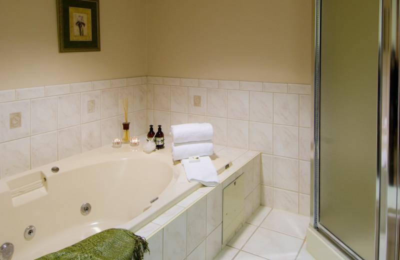 Guest Bathroom at Horseshoe Resort