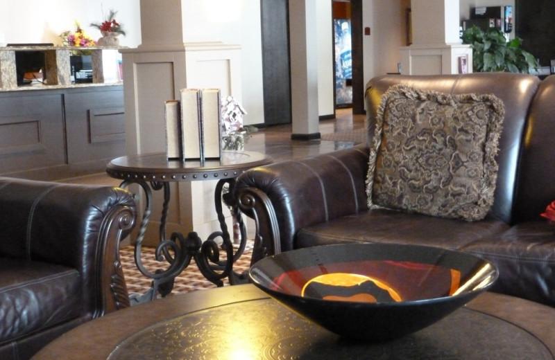 Lobby at The Inn at Mountain View.